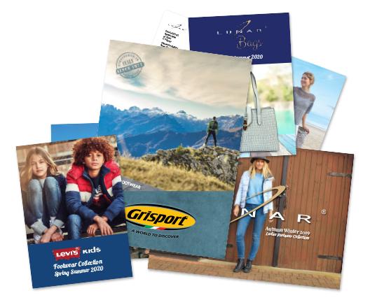 Lunar Grisport footwear trade brochures