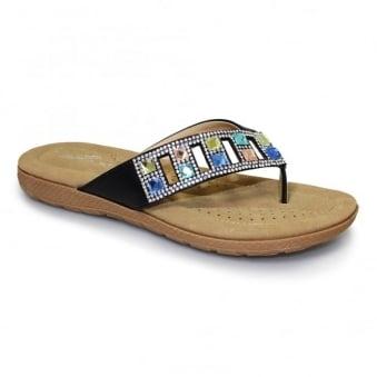 Abigail Toe-Post Sandal