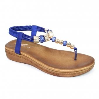 50f9c2263c56e9 Acorn Glitzy Toe Post Sandal