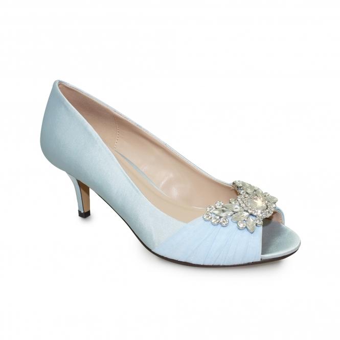 Lunar Allure Peep-Toe Shoe | Diamante