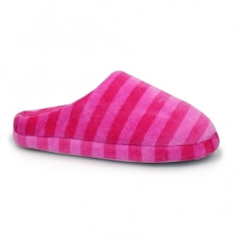 Angel Striped Mule Slipper