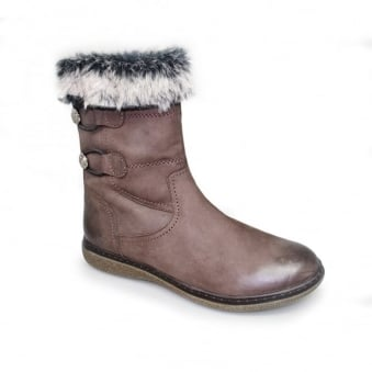 Annalee Fur Trim Boot