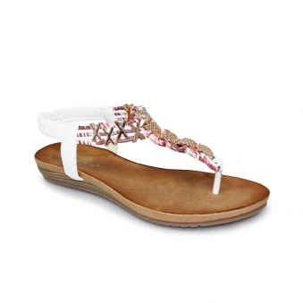 Antigua Toe Post Sandal