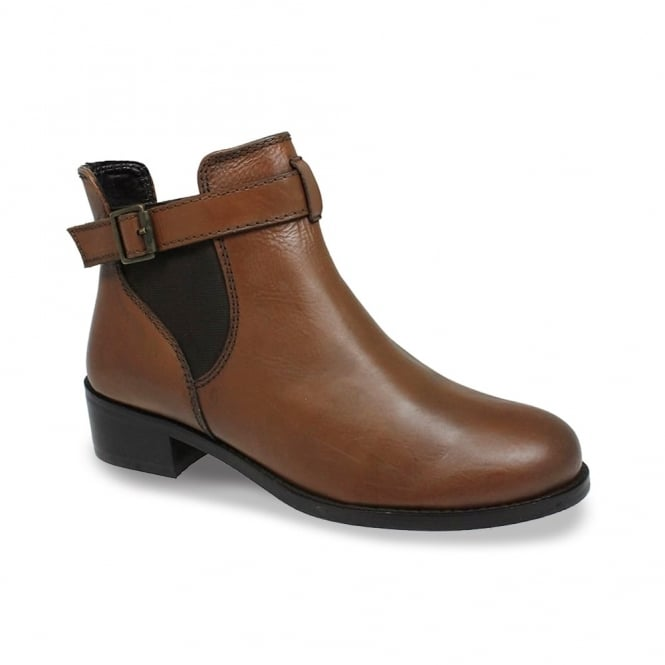 Lunar Barbara Leather Ankle Boot