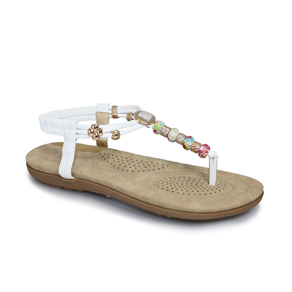 Black sandals debenhams - Beech Beaded Sandal