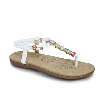 Beech Beaded Sandal