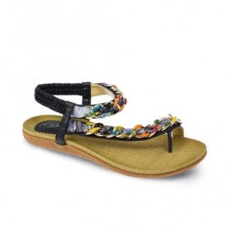 Briony Plaited Sandal