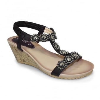 Cally Wedge Sandal