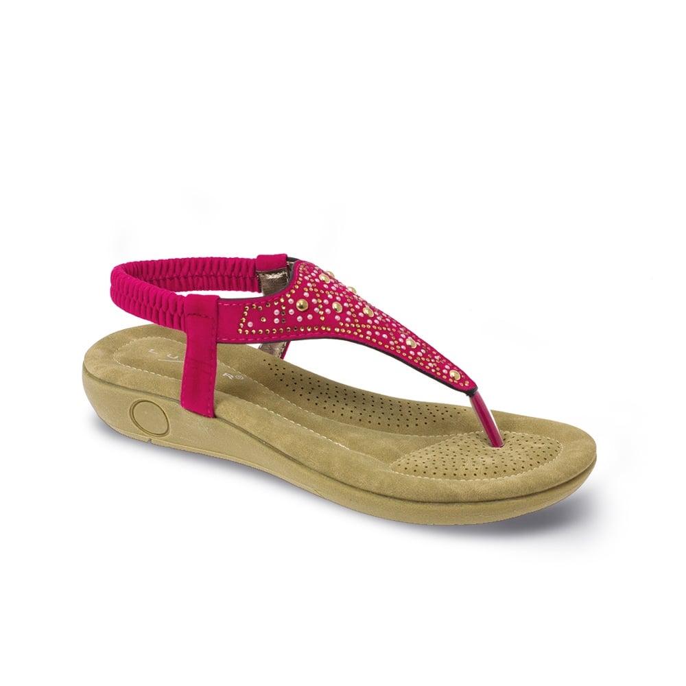 5ee09a8b08ad66 Lunar Calypso Padded Summer Sandal