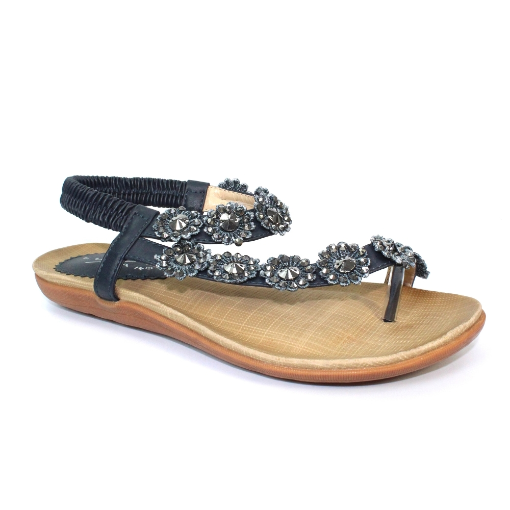da40aa205440a Lunar Charlotte Sandal | Ladies Toe Loop Sandals | Best Seller