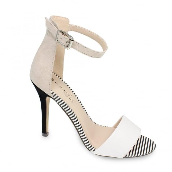 Lunar Checo Pin Striped Heel