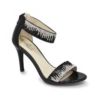 Clara Embellished Mid Heel