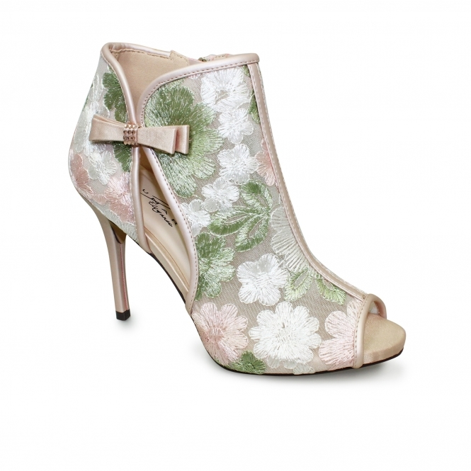 Lunar Coco Floral Ankle Boot