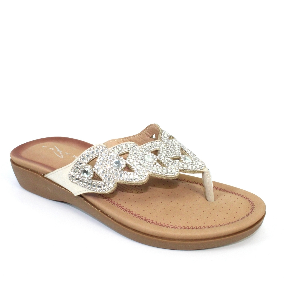3009ba00b4d Lunar Corrina Slip On Sandal