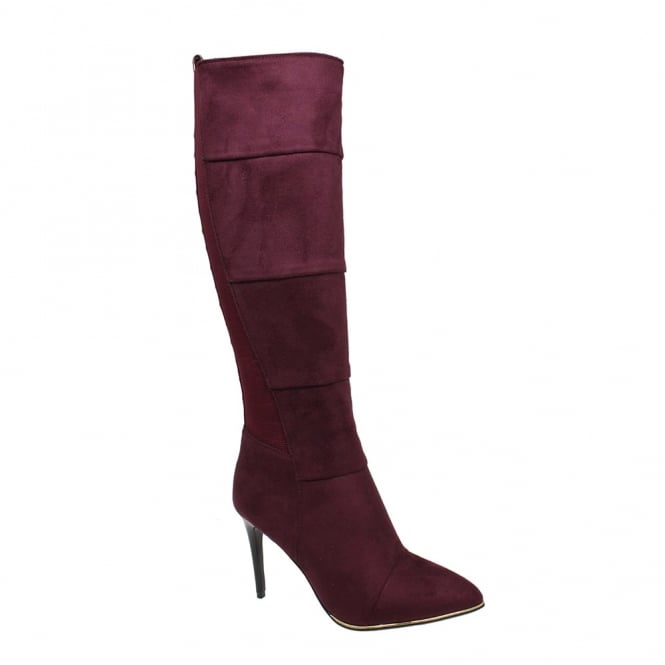 Lunar Coyle Heeled Long Leg Boot