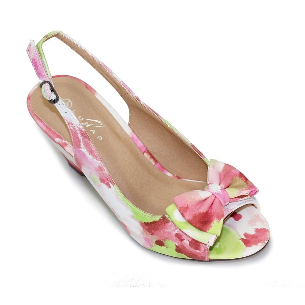 lunar dale floral wedge lunar from lunar shoes uk