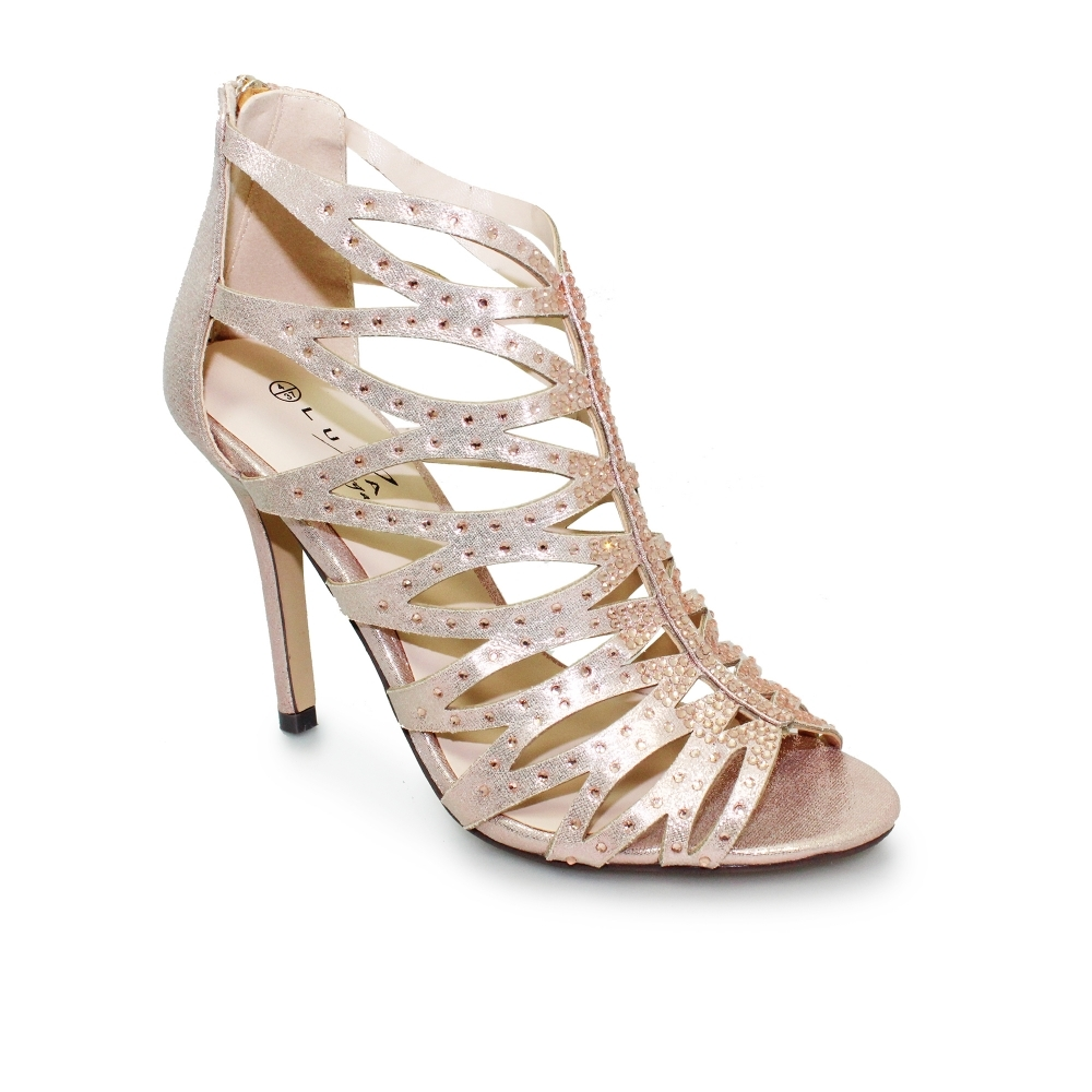 8950e8957b2 Lunar Dorado Heeled Sandals