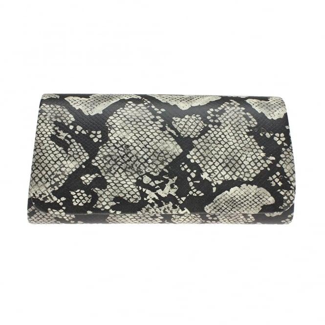 Lunar Elder Snake Print Clutch Bag