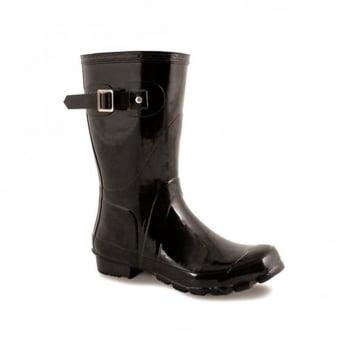 Womens Sweden Black Wellington Boot ELW032 3 UKLunar SNFYEd5Rz