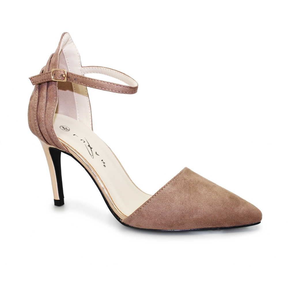 a0ec3740707 Isla Suede Ankle Strap Court
