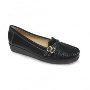 Lacey Twin Buckle Loafer