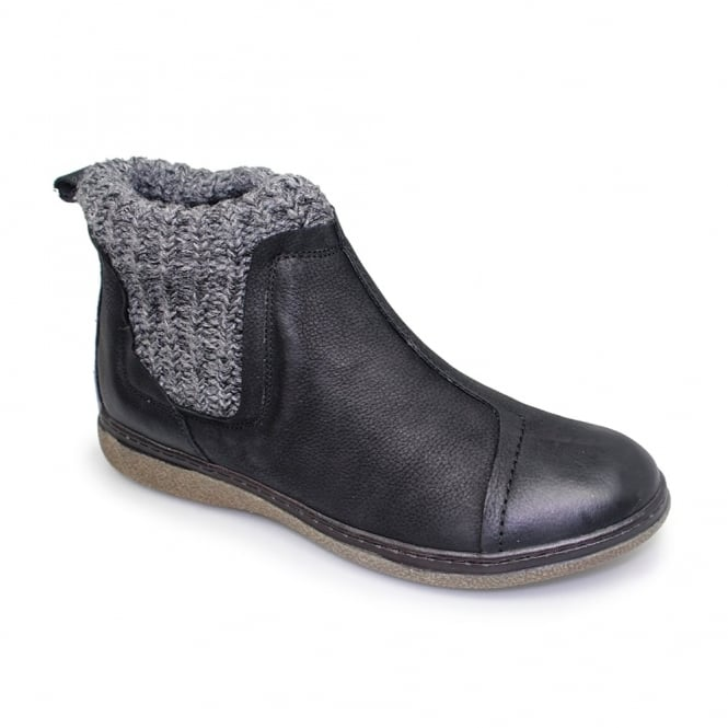 Lunar Lois Leather Ankle Boot