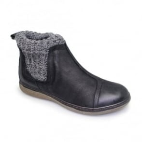 Lois Leather Ankle Boot