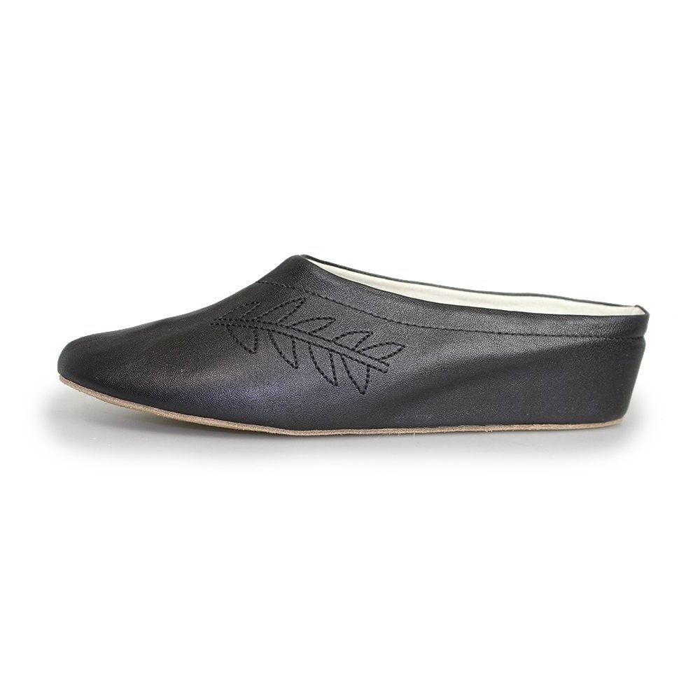 b41c3d951 Lunar Amanda Real Leather | Open Back Slippers | Shop Online