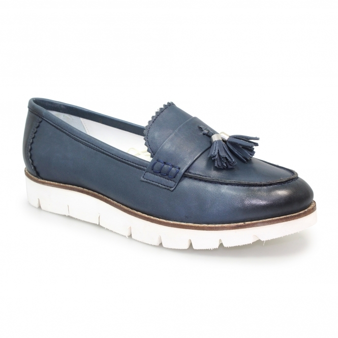 Levato Leather Wedge Moccasin