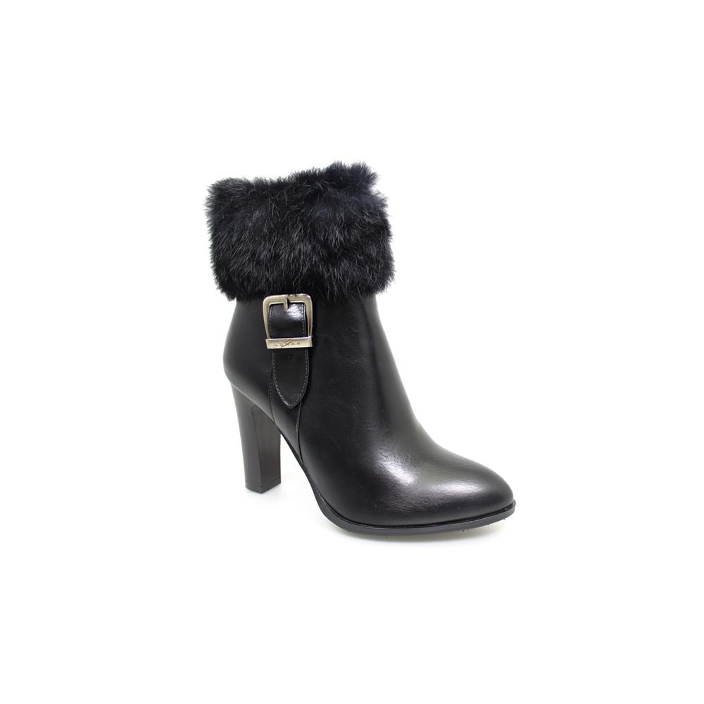 Majesty Fur Trimmed Ankle Boot