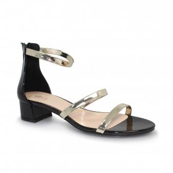 6aea26f8810a Martha Metallic Strap Sandal