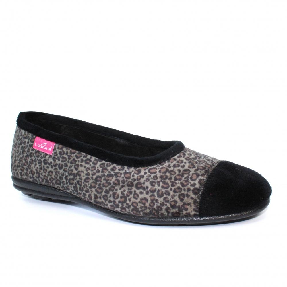 Natal Leopard Print Slipper - Slippers
