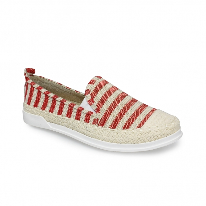 Lunar Palma Striped Canvas Shoe