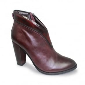 Pauline Two Tone Leather Boot