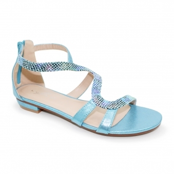55c8706cc48fa1 Colour  Turquoise Ladies Sandals