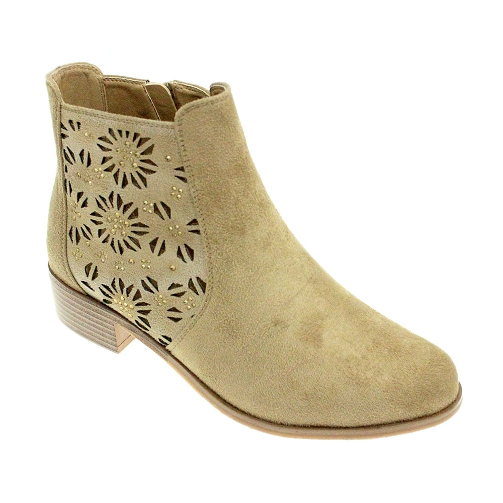 lunar rhys patterned ankle boot boots from lunar shoes uk