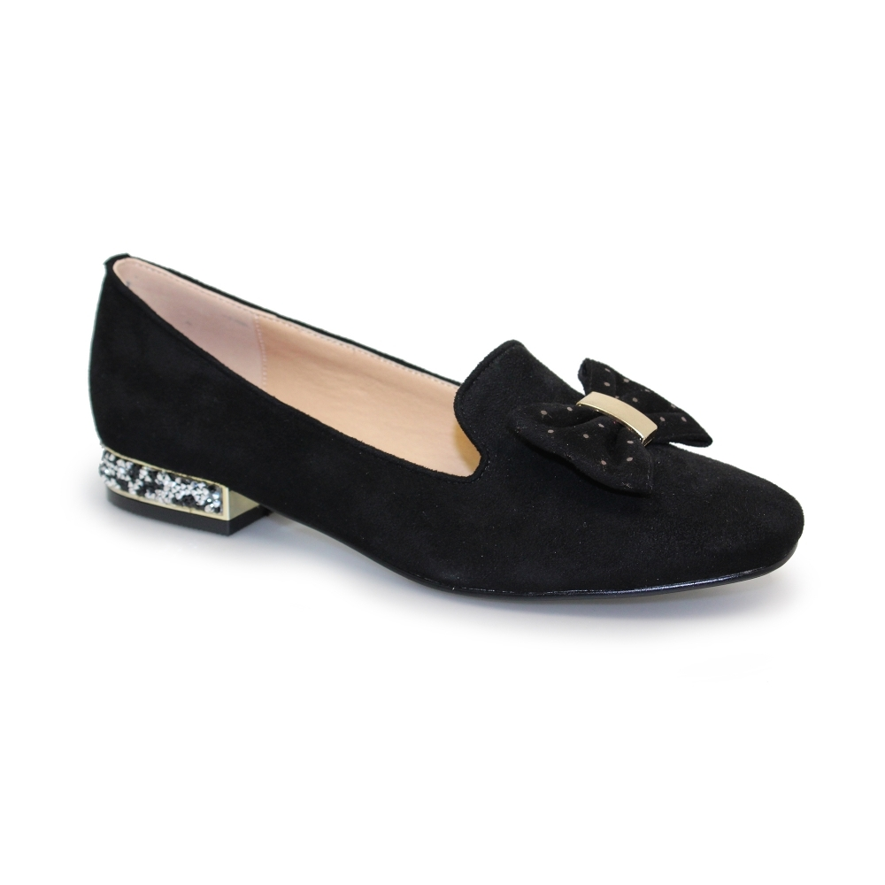 503b69acd9b Lunar Rutter II Bow Loafer - Shoes from Lunar Shoes UK