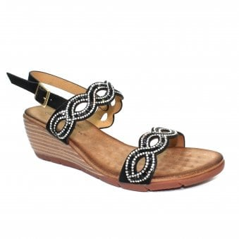 e379c88c8 Sadie Gemstone Wedge Sandal
