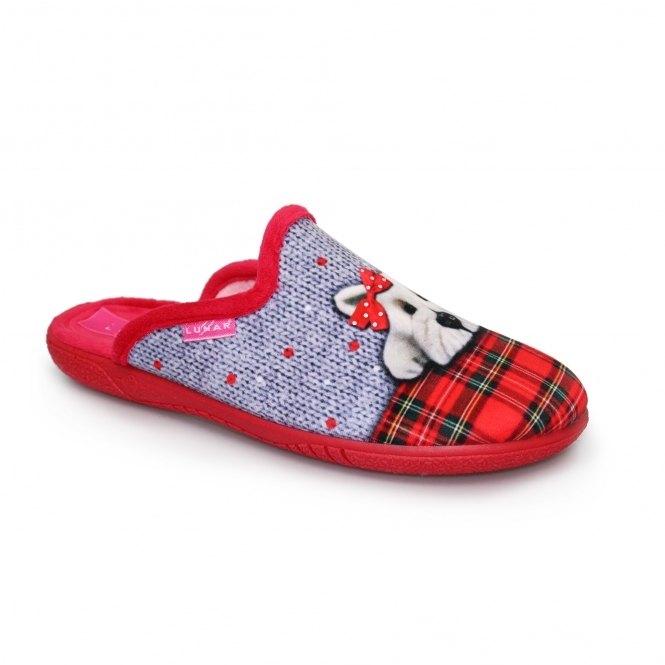 Lunar Scotty Bow Slipper