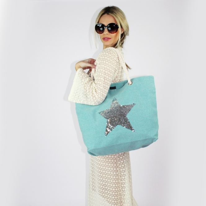 Sequin Star Bag