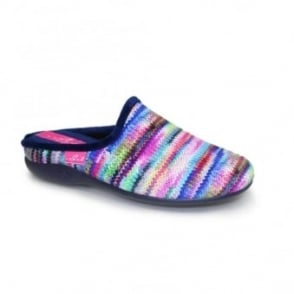Sherbet Striped Slipper
