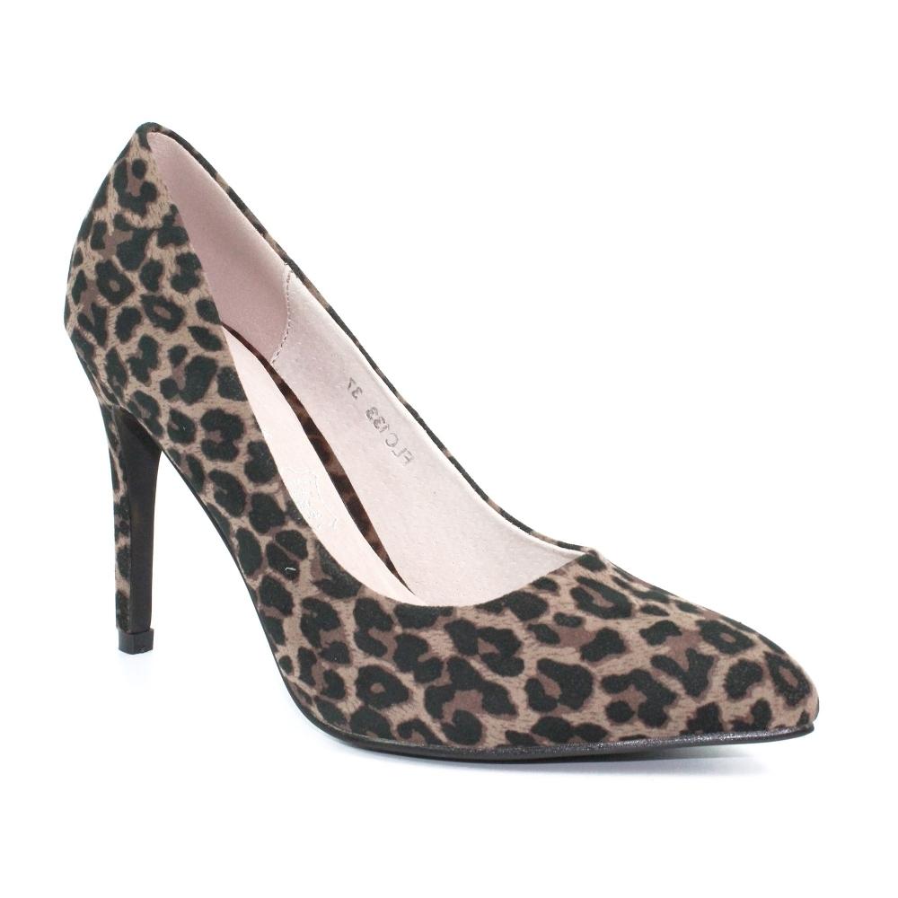 Lunar Shoes | Sia Leopard Court Shoe