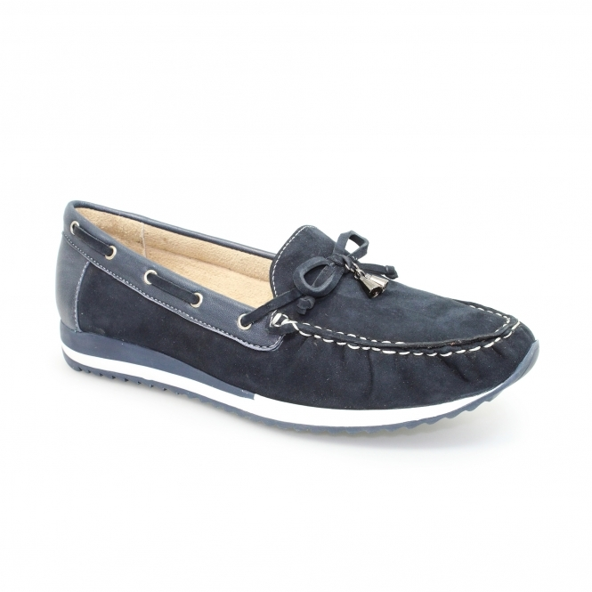 Silas Leather Moccasin