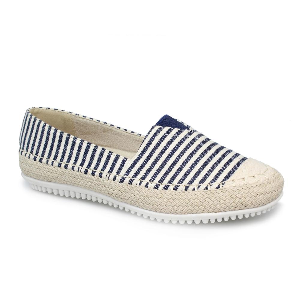 5ce3e8db Lunar Shoes | Sorrento Striped Slip On Pump | Womens Espadrilles