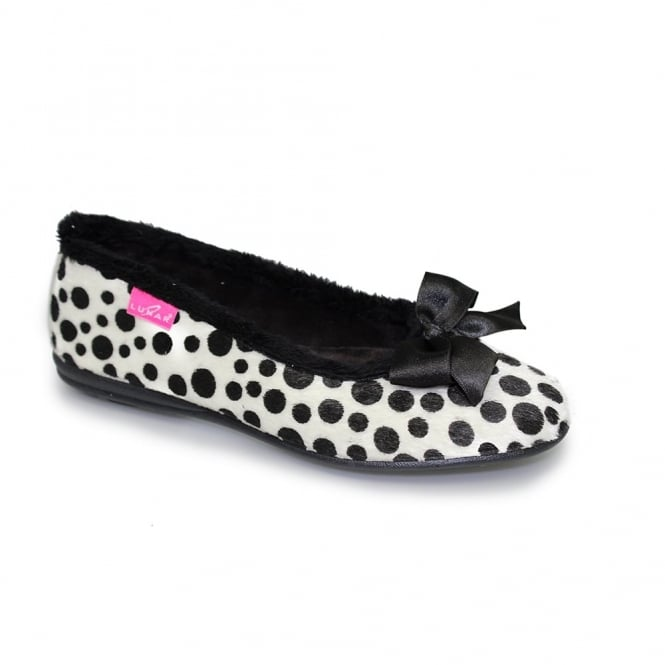 Lunar Spotty Pump Slipper