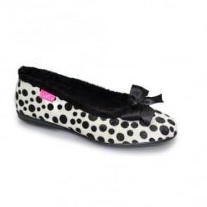 Spotty Pump Slipper