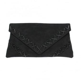 Stella Cross Stitch Clutch Bag