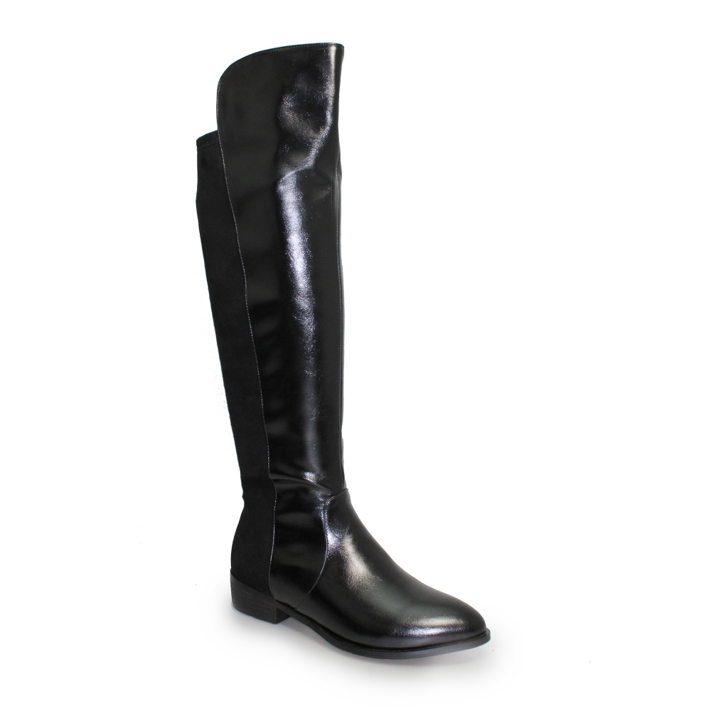 3f251a6171bc Lunar Sully Boot | Ladies Knee Length Boots | Long Boots | Black