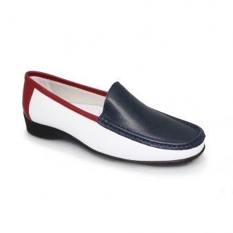 Tansy Leather Slip On