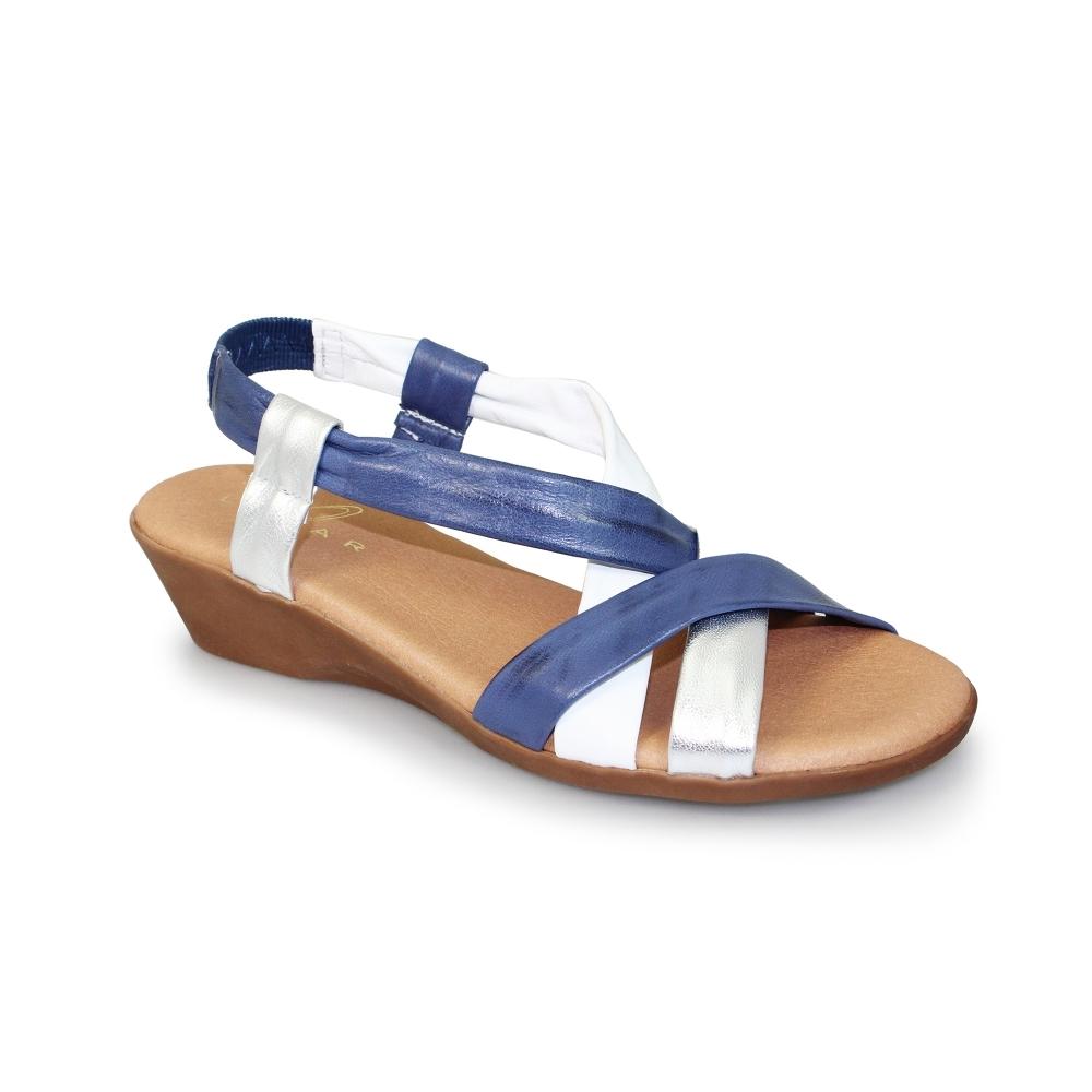 ede49531a5ac9 Lunar Tanya Sandals | Open Toe | Multi Leather Finish